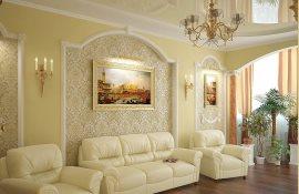 Как обустроить гостиную в классическом стиле?