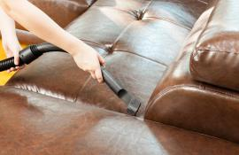 5 советов, как ухаживать за кожаным диваном