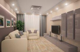 Рекомендации по выбору и расстановке мебели в прямоугольной гостиной
