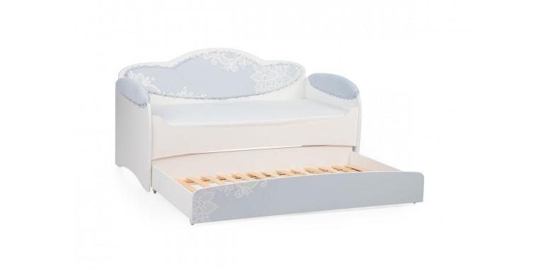 Детский диван-кровать Mia аквамарин