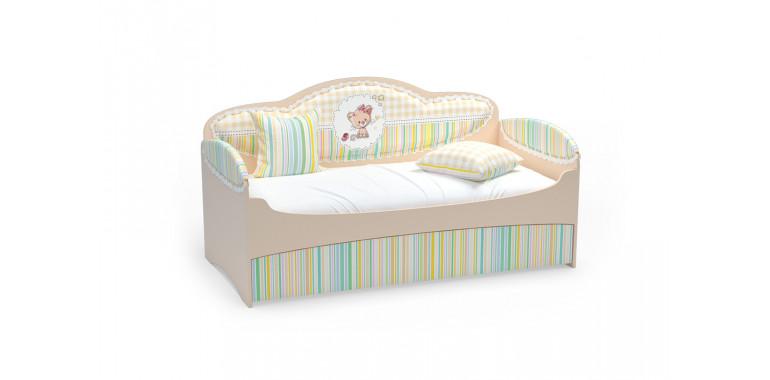 Детский диван-кровать Mia бежевый
