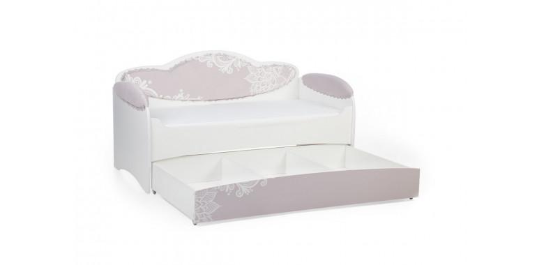 Детский диван-кровать Mia какао