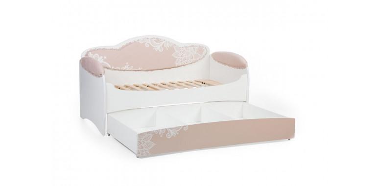 Детский диван-кровать Mia крем