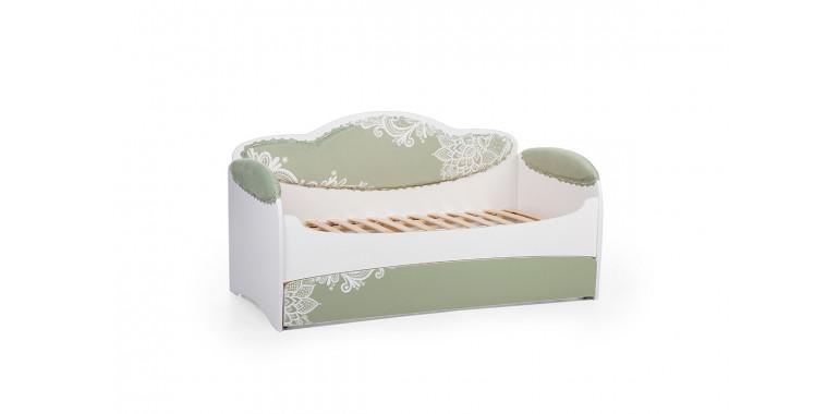 Детский диван-кровать Mia олива