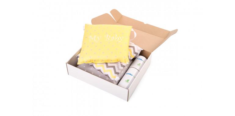 Бортики для кроватки Sleepy желтые