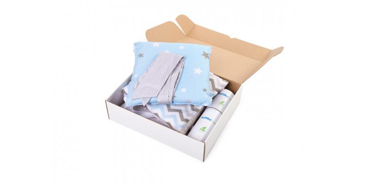 Бортики для кроватки Sleepy голубые