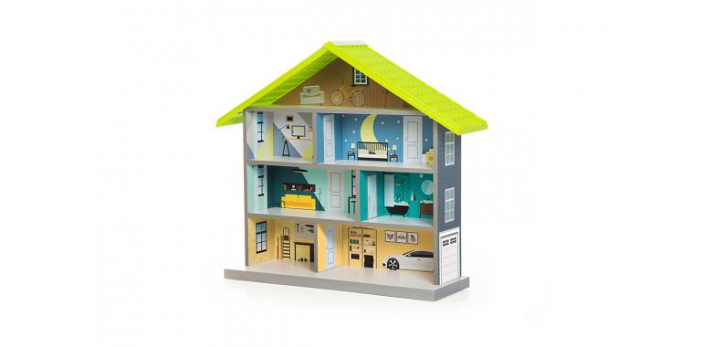 Кукольный домик Bibi зеленый