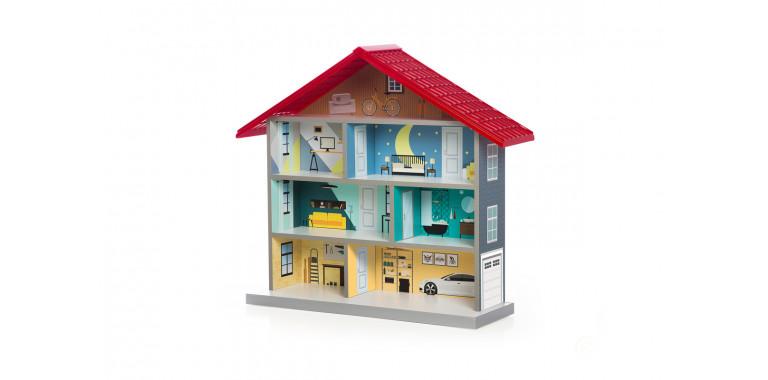 Кукольный домик Bibi красный