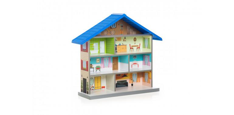 Кукольный домик Mimi синий