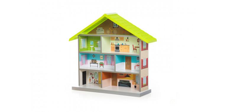 Кукольный домик Mimi зеленый