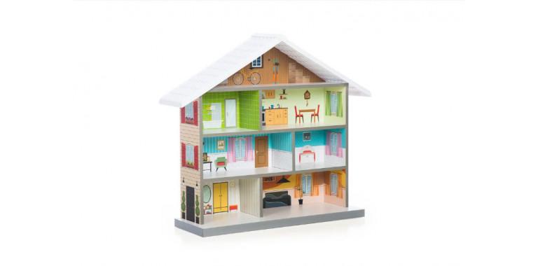 Кукольный домик Mimi белый
