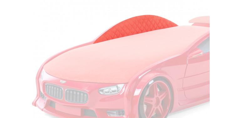 Комплект мягких бортиков Uno Neo ткань замша красный