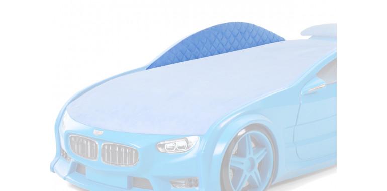 Комплект мягких бортиков Uno Neo ткань замша синий