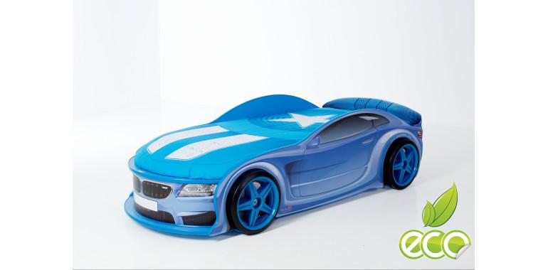 Объемные пластиковые колеса для Light синие