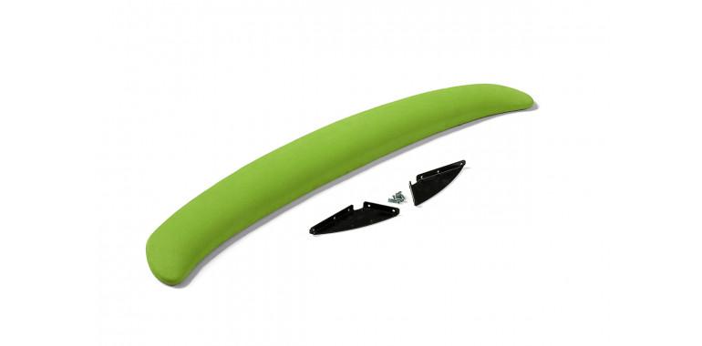 Спойлер мягкий с функцией подголовника зеленый