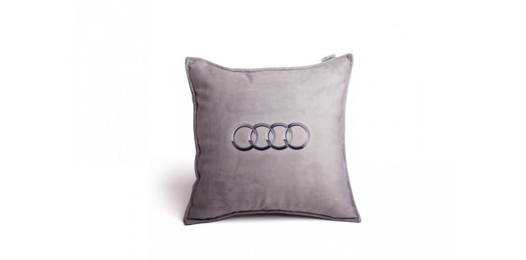Подушка декоративная с логотипом Ауди