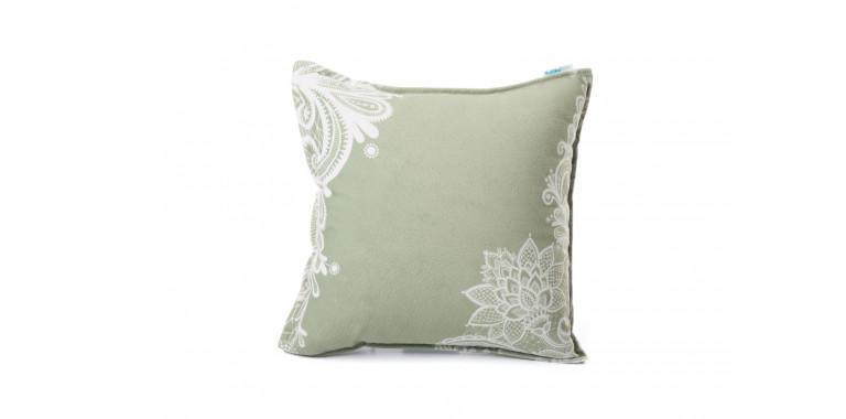 Подушка декоративная Mia олива