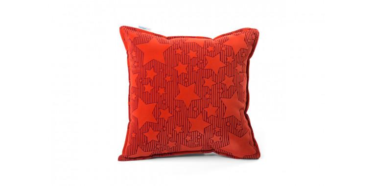 Подушка 35*35 красная звезда