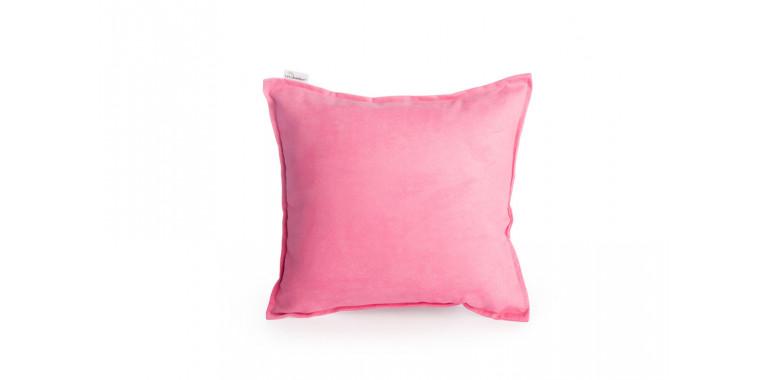 Подушка 35*35 Mono розовая