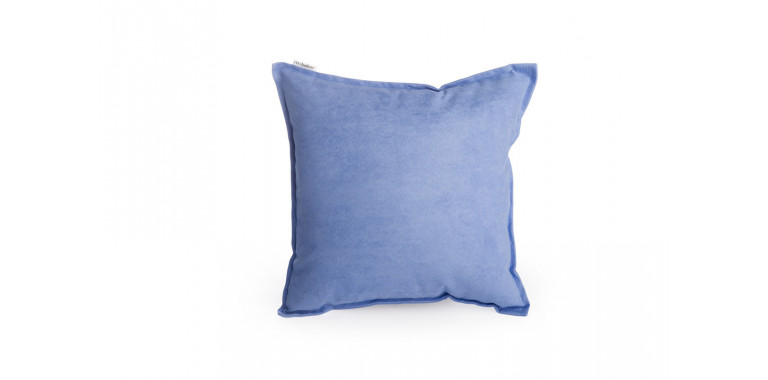 Подушка 35*35 Mono синяя