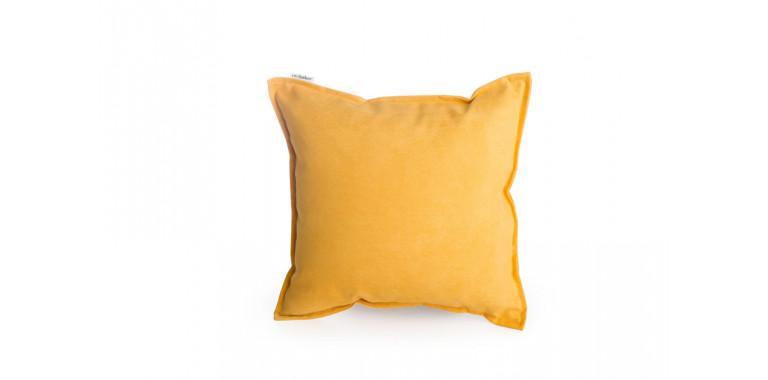 Подушка 35*35 Mono желтая