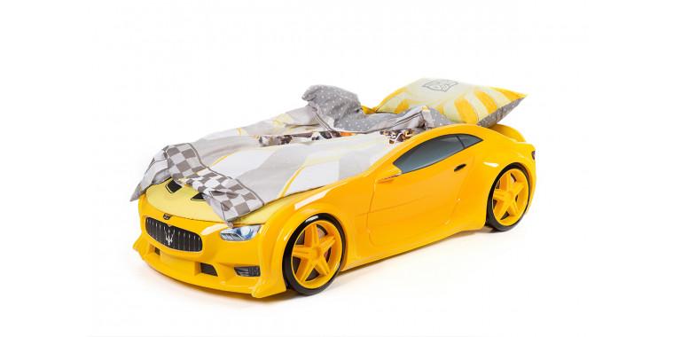 Комплект постельного белья поплин для серии Neo и Uno желтый (кроме Ауди А4)