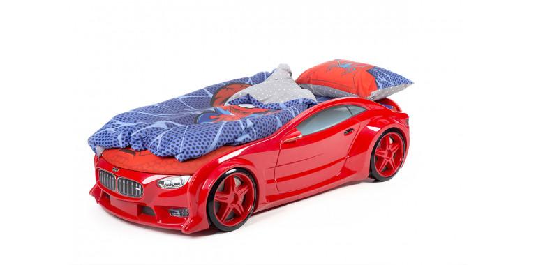 Комплект постельного белья поплин для Ауди А4 супергерой