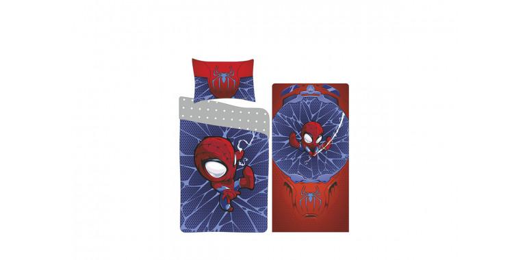 Комплект постельного белья поплин для серии Evo и Mia малая супергерой