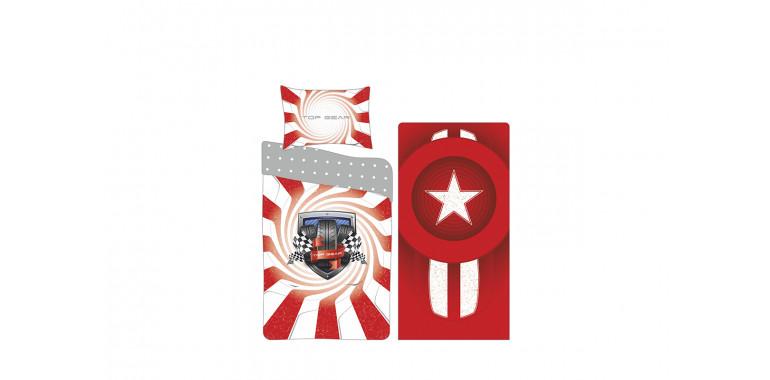 Комплект постельного белья поплин для серии Evo и Mia малая красный
