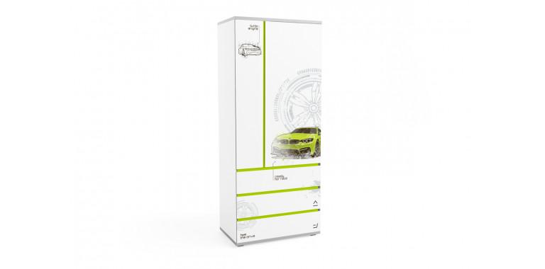 Шкаф Q-bix 33 БМВ зеленый