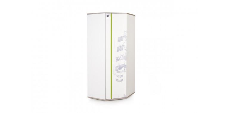 Угловой шкаф Q-bix 41 лайм