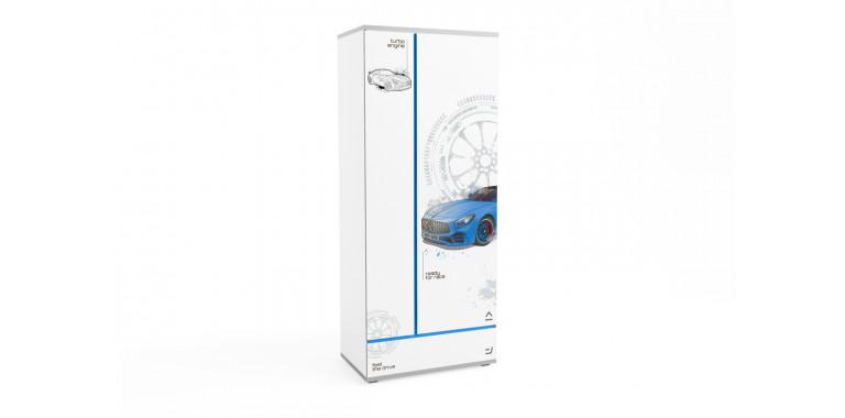 Шкаф Q-bix 31 Мерседес синий