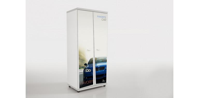 Шкаф Z6 Авто Декор 1 БМВ синий