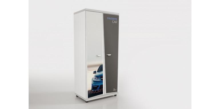 Шкаф Z8 Авто Декор 1 Мерседес синий