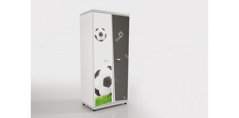 Шкаф Z8 Футбол черный