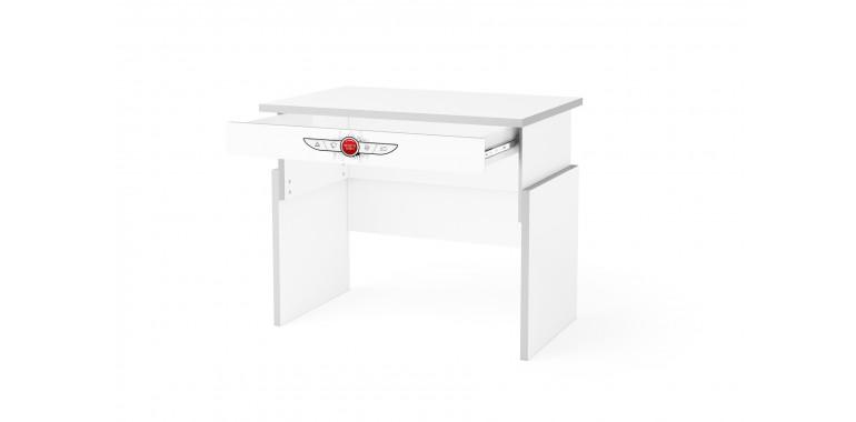 Растущий стол Q-bix 01 белый