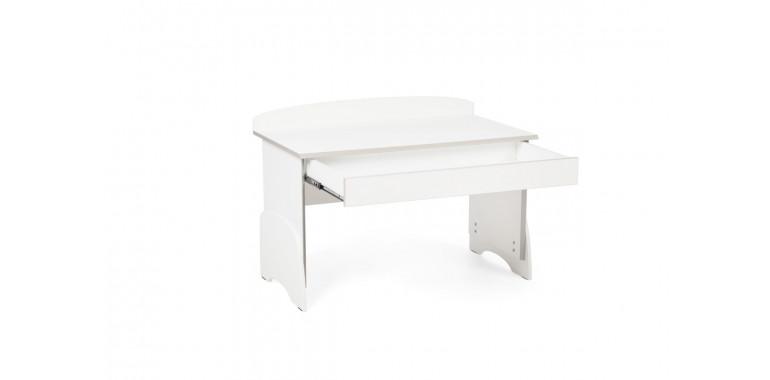Растущий стол U-nix белый