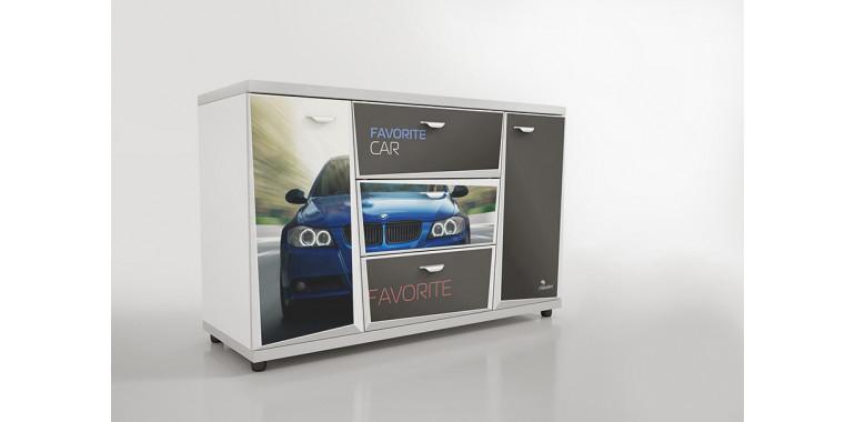 Комод Z4 Авто Декор 1 БМВ синий