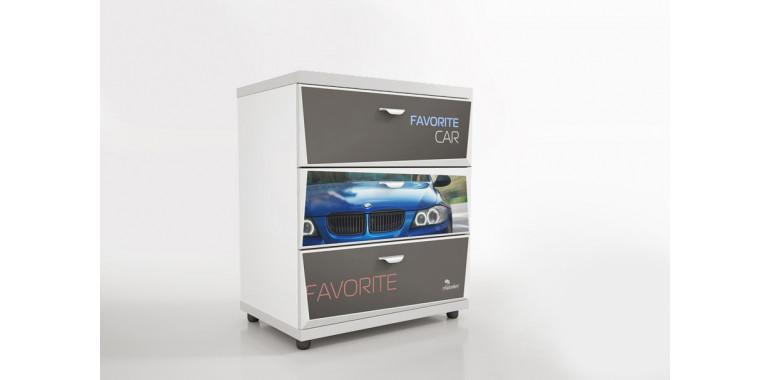 Комод Z1 Авто Декор 1 БМВ синий