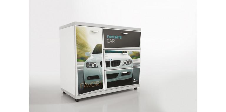 Комод Z3 Авто Декор 1 БМВ белый