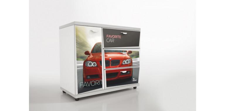 Комод Z3 Авто Декор 1 БМВ красный