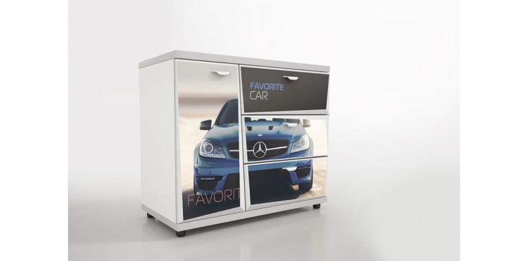 Комод Z3 Авто Декор 1 Мерседес синий