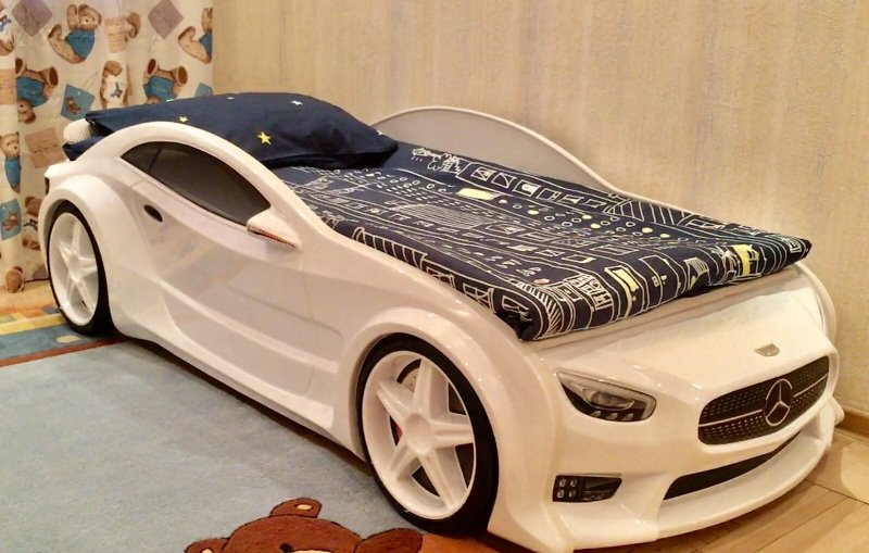 Кровать-машинка серии EVO