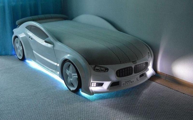 Кровать-машинка серии NEO