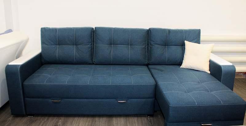 Продажа диванов с оттоманкой